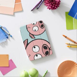 Niedliche neugierige Schweine iPad Mini Hülle