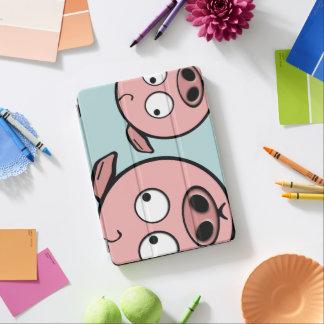 Niedliche neugierige Schweine iPad Pro Cover
