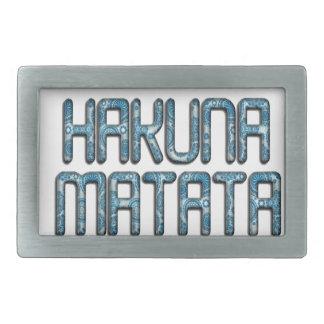 Niedliche Nizza reizende Hakuna Matata Rechteckige Gürtelschnalle