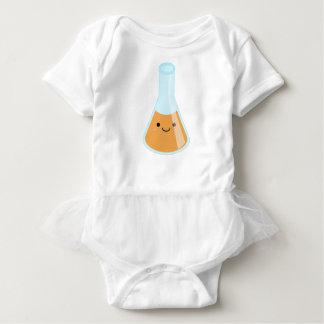 Niedliche orange Alchimie kawaii Flasche Baby Strampler