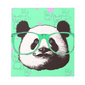 Niedliche Panda-Bärn-Girly Geschenke Kawaii Notizblock