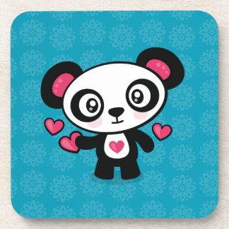Niedliche Panda-Untersetzer Untersetzer