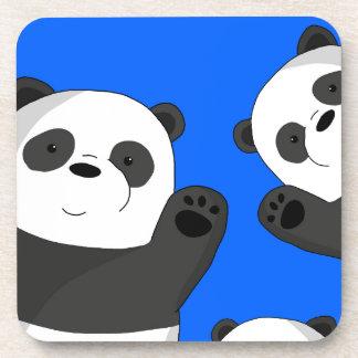 Niedliche Pandas Untersetzer