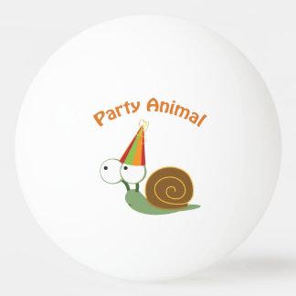 Niedliche Party-Tier-Schnecke Tischtennis Ball