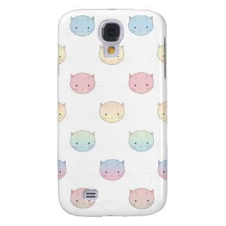 Niedliche Pastellkitty-Katze stellt Muster Galaxy S4 Hülle