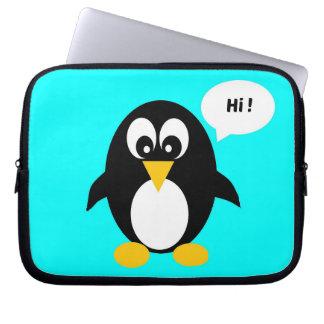 Niedliche Penguin-Laptop-Hülse 10 Zoll Laptop Sleeve