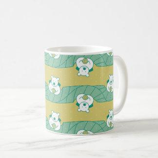 Niedliche polarer Bärn-Tee-Bruch-Muster-Tasse Kaffeetasse