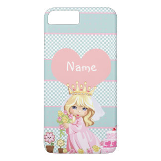 Niedliche Prinzessin Child - so kawaii iPhone 8 Plus/7 Plus Hülle
