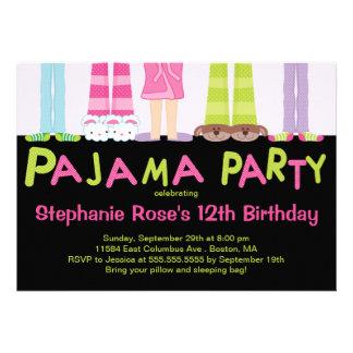 Niedliche Pyjama-Party-Geburtstags-Party