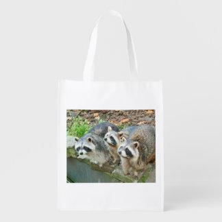 Niedliche Raccoons Einkaufstaschen