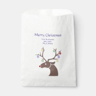 Niedliche Ren-Bevorzugungs-Tasche Geschenktütchen