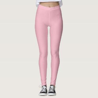 niedliche rosa Gamaschen Leggings