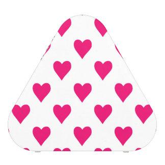 Niedliche rosa Herz-Muster-Liebe Bluetooth Lautsprecher
