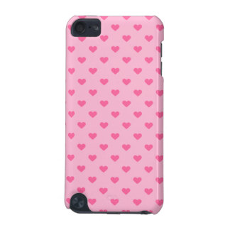 Niedliche rosa Herz-Muster-Liebe iPod Touch 5G Hülle
