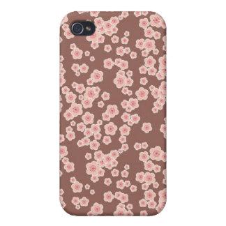 Niedliche rosa Kirschblüten kopieren iphone 4 Fall iPhone 4 Hülle