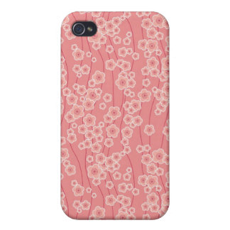 Niedliche rosa Kirschblüten kopieren iphone 4 Fall iPhone 4 Hüllen