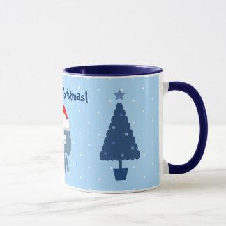 Niedliche Sanktquallen-u. -Weihnachtsbaum-Tasse Tasse