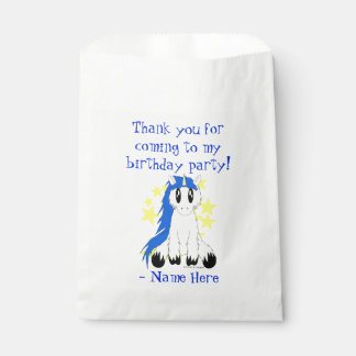 Niedliche schäbige Unicorn-Bevorzugungs-Tasche Geschenktütchen
