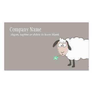Niedliche Schaf-Geschäfts-Karte Visitenkarte