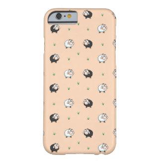 Niedliche Schaf-Lamm-Muster-Telefon-Hüllen Barely There iPhone 6 Hülle