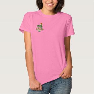 Niedliche Schildkröte gesticktes Shirt