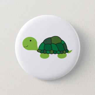 Niedliche Schildkröte Runder Button 5,7 Cm