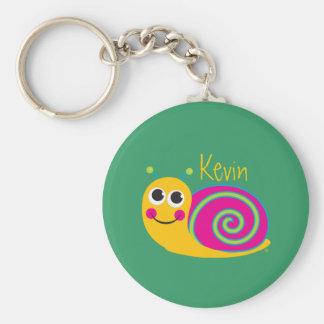 Niedliche Schnecke Keychain Schlüsselband