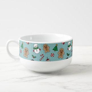 Niedliche Schnee-Kumpelsuppen-Tasse Große Suppentasse