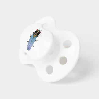 Niedliche schwarze Zikade Schnuller