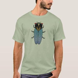 Niedliche schwarze Zikade T-Shirt