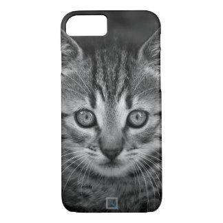 Niedliche Schwarzweiss-Katze, iPhone 7 Fall iPhone 8/7 Hülle