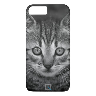 Niedliche Schwarzweiss-Katze, iPhone 7 Plusfall iPhone 8 Plus/7 Plus Hülle