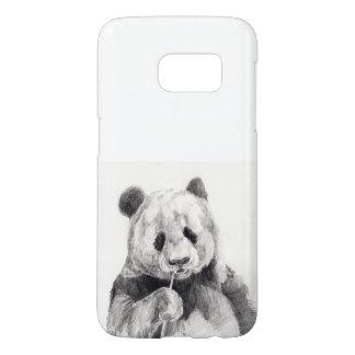 Niedliche Schwarzweiss-Panda-Illustration