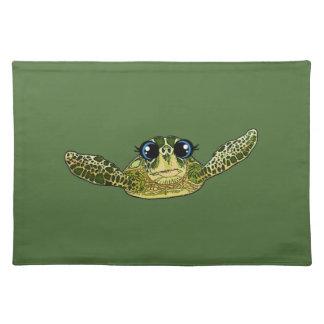 Niedliche Seeschildkröte Tischset