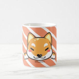 Niedliche Shiba Inu Weiß-Tasse Kaffeetasse