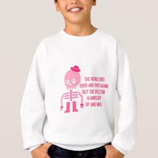 Niedliche Skelett-Zitate Sweatshirt