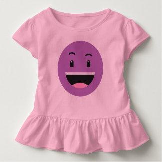 Niedliche smileykleidung kleinkind t-shirt