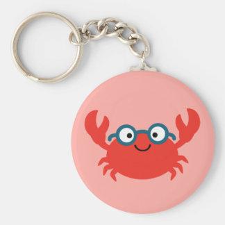 Niedliche Specky Krabben-Illustration Schlüsselanhänger