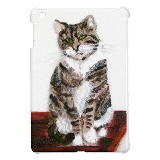 Niedliche Tabby-Katzen-Kunst iPad Mini Hülle