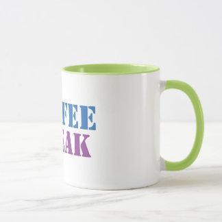 niedliche Tassen-Hipster-Geschenkidee der Tasse