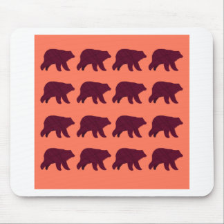 Niedliche Teddies polar Mousepad
