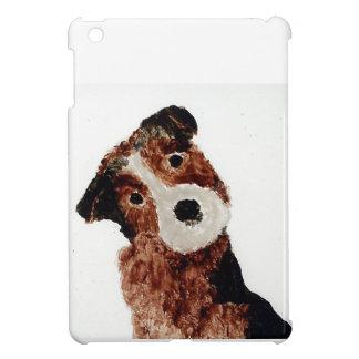 Niedliche Terrier-Hundekunst iPad Mini Hülle