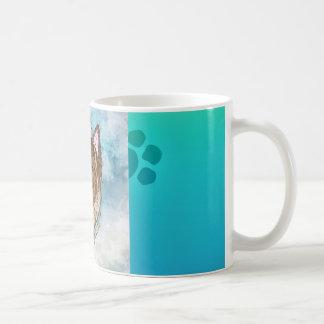 Niedliche Terrier-Tasse Kaffeetasse