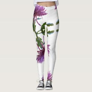 Niedliche u. stilvolle lila leggings