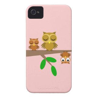 niedliche und lustige Eulen Case-Mate iPhone 4 Hülle