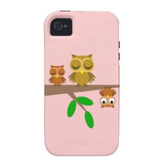 niedliche und lustige Eulen iPhone 4/4S Case