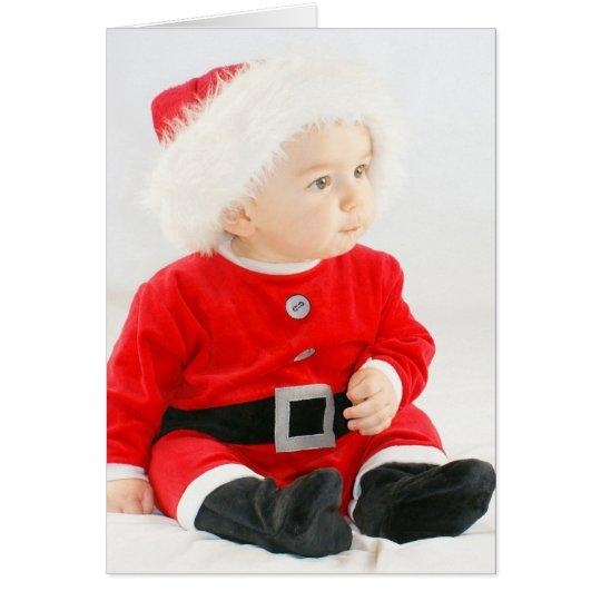 niedliche und lustige weihnachtskarte baby karte zazzle. Black Bedroom Furniture Sets. Home Design Ideas