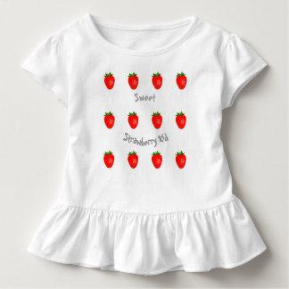 """Niedliche und Yummy """"süßes Erdbeerkinder"""" Kleinkind T-shirt"""