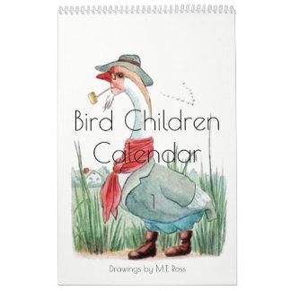 Niedliche Vintage Kalender