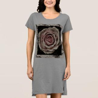Niedliche Vintage Rose Kleid